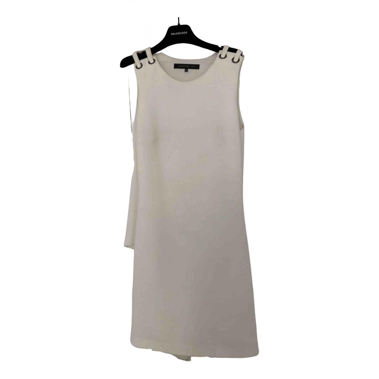 Barbara Bui \N Kleid in  Weiss Polyester