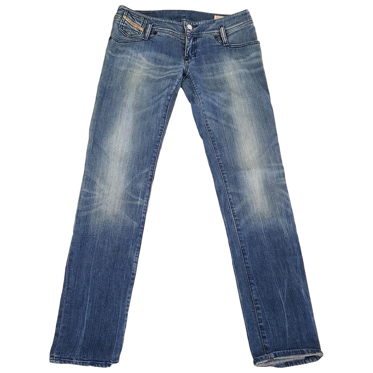 Diesel \N Cotton - elasthane Jeans for Women 28 US