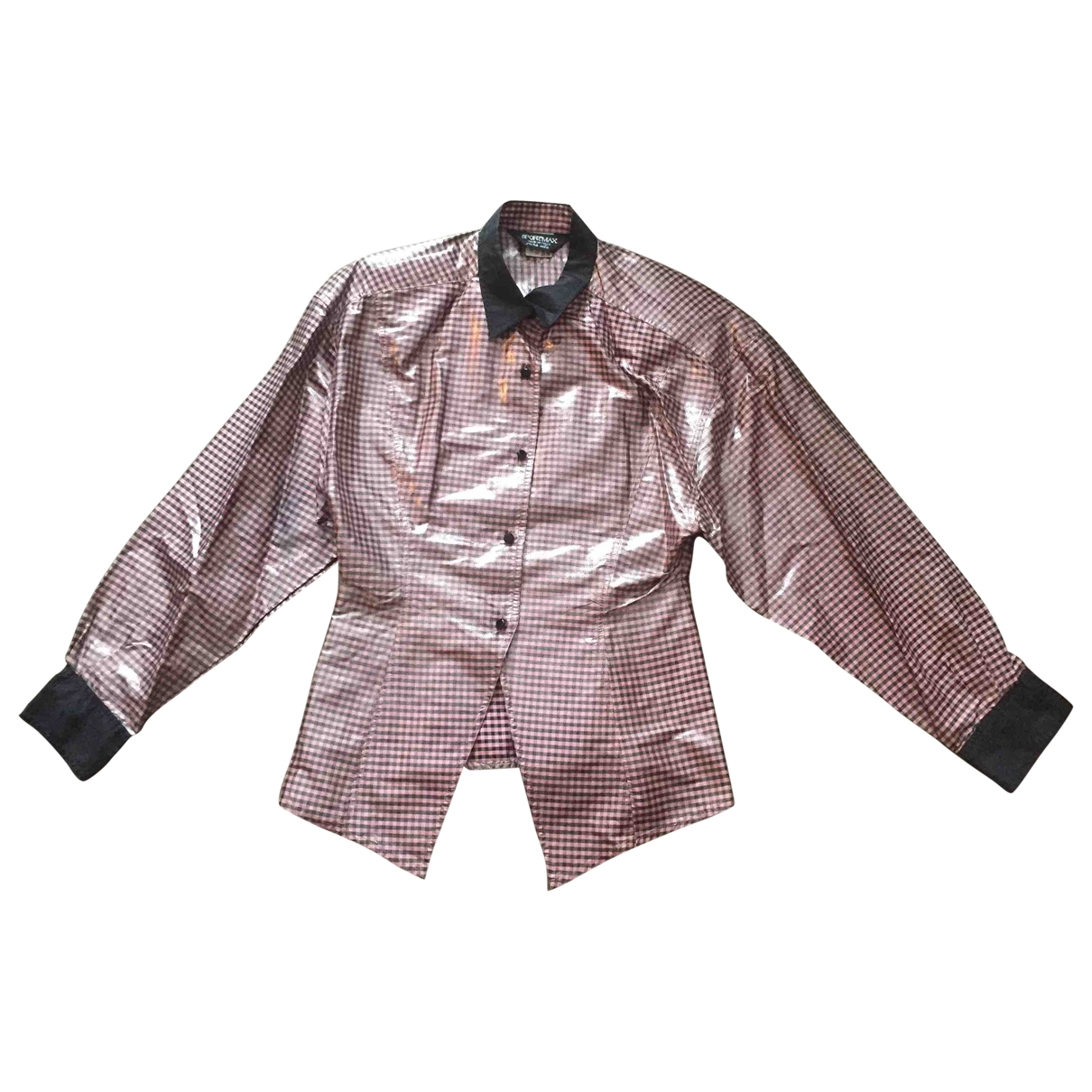Sport Max - Top   pour femme en soie - rose