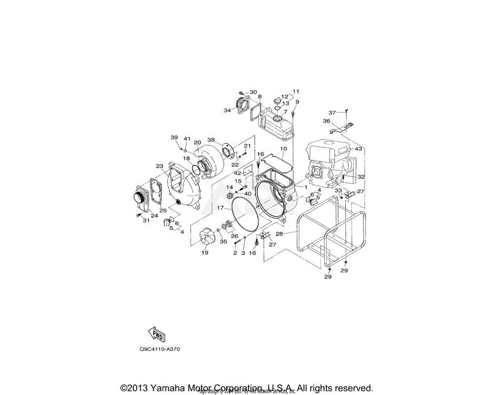 Yamaha OEM YJA-01160-85-02 WEAR PLATE (WT20X)