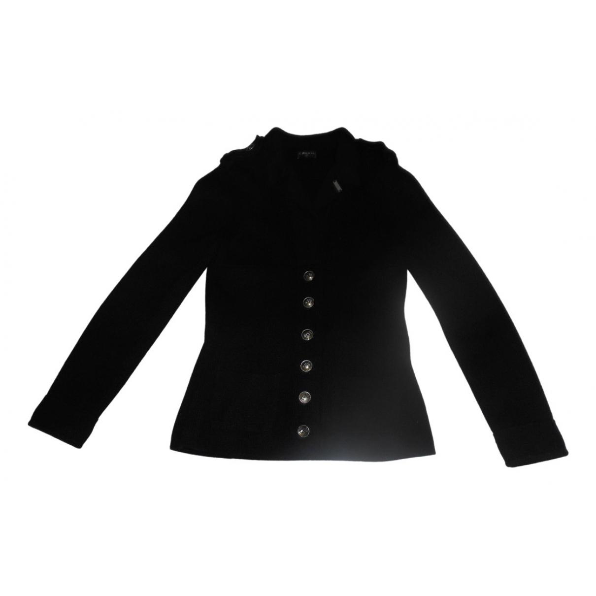 Chanel - Veste   pour femme en cachemire - noir