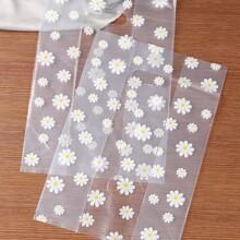 Flower Print Dessert Packing Bag 5pcs