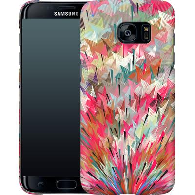 Samsung Galaxy S7 Edge Smartphone Huelle - Black Pigment Explosion von Danny Ivan