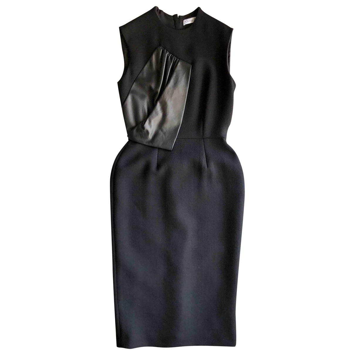 Dior \N Black Wool dress for Women 38 FR