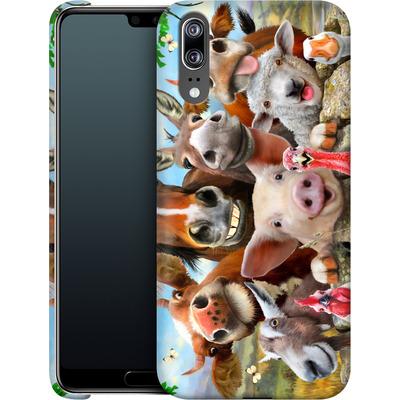 Huawei P20 Smartphone Huelle - Farm Selfie von Howard Robinson