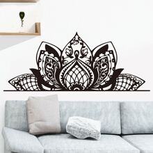 Lotus Print Wall Sticker