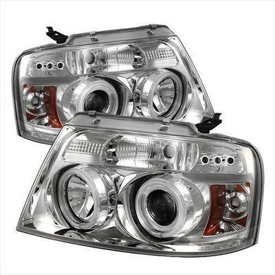 Spyder Auto Group CCFL LED Projector Headlights (Chrome) - 5030092