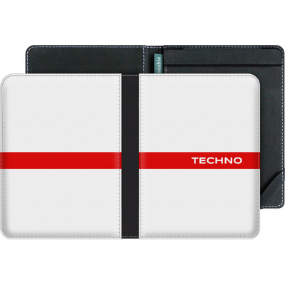 tolino vision 3 HD eBook Reader Huelle - RED LINE von Berlin Techno Collective
