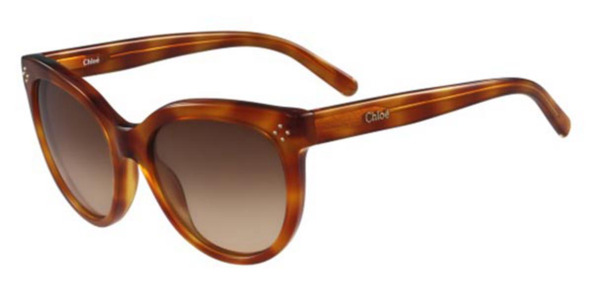 Chloe CE 705S 725 Women's Sunglasses Tortoise Size 55