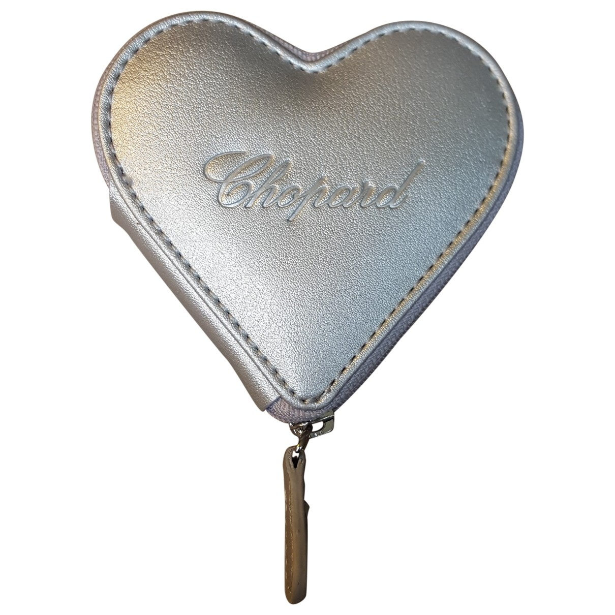 Chopard \N Kleinlederwaren in  Silber Leder