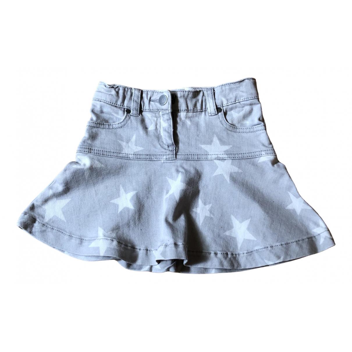 Stella Mccartney Kids \N Rocke in  Grau Denim - Jeans
