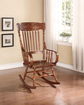 BM162978 Wooden Rocking Chair  Tobacco