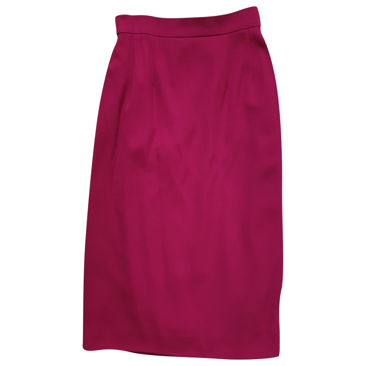 Celine \N Pink Wool skirt for Women 36 FR