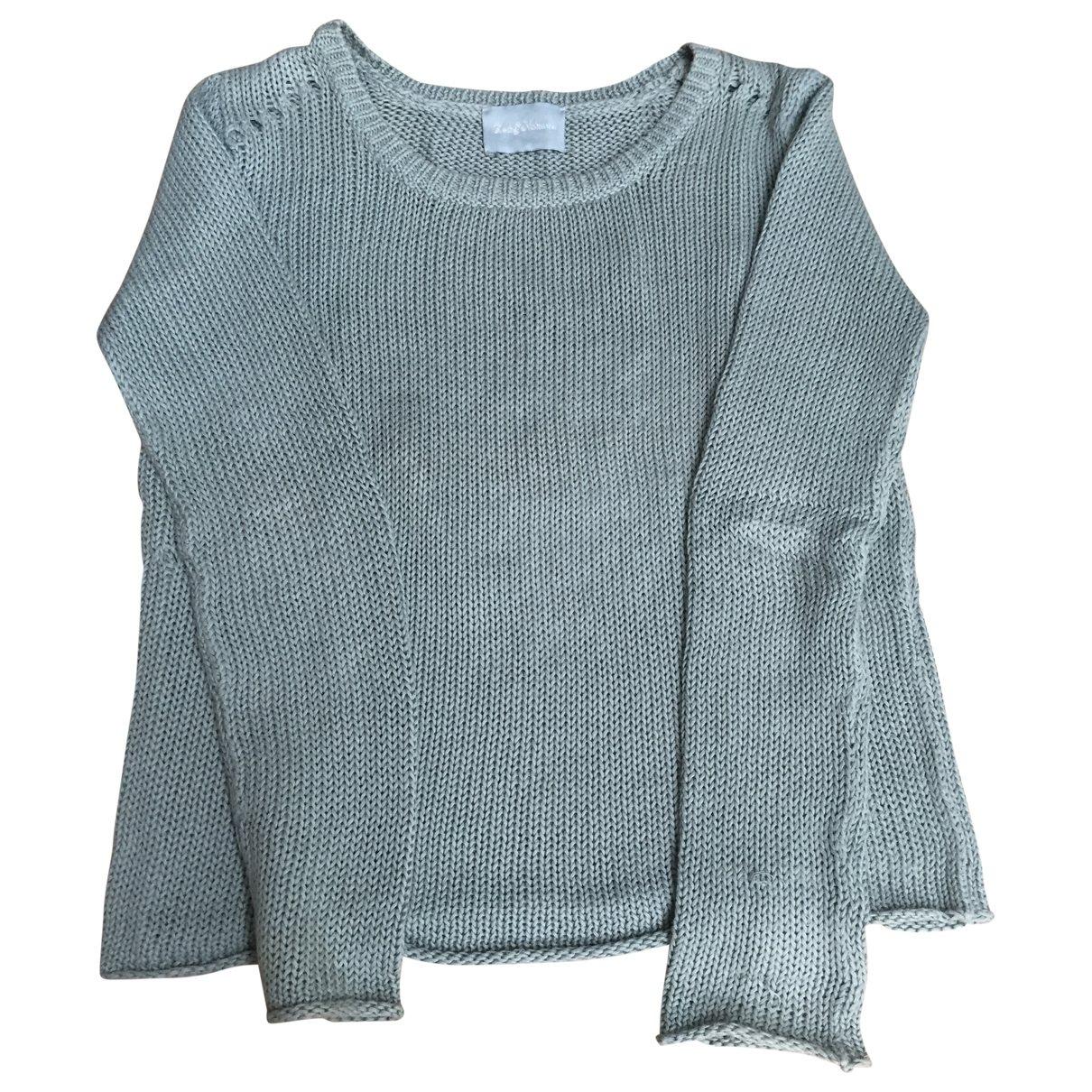 Zadig & Voltaire \N Green Linen Knitwear for Women 36 FR