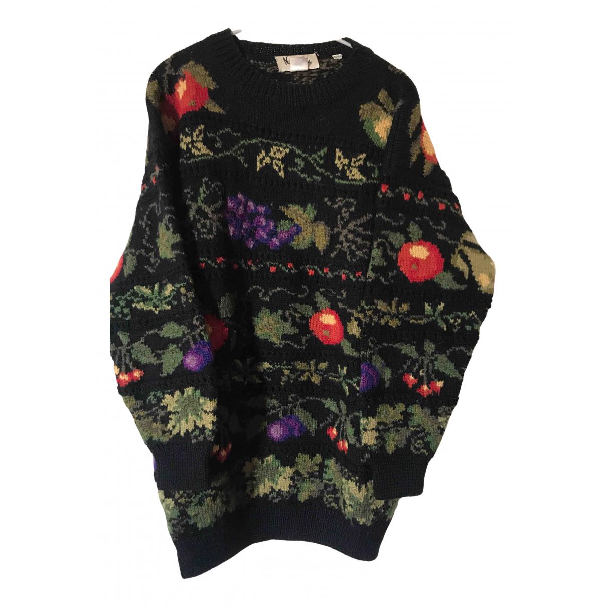 - Pull Oversize pour femme en laine - noir