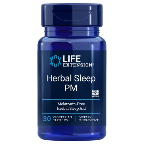Herbal Sleep 30 Caps by Life Extension