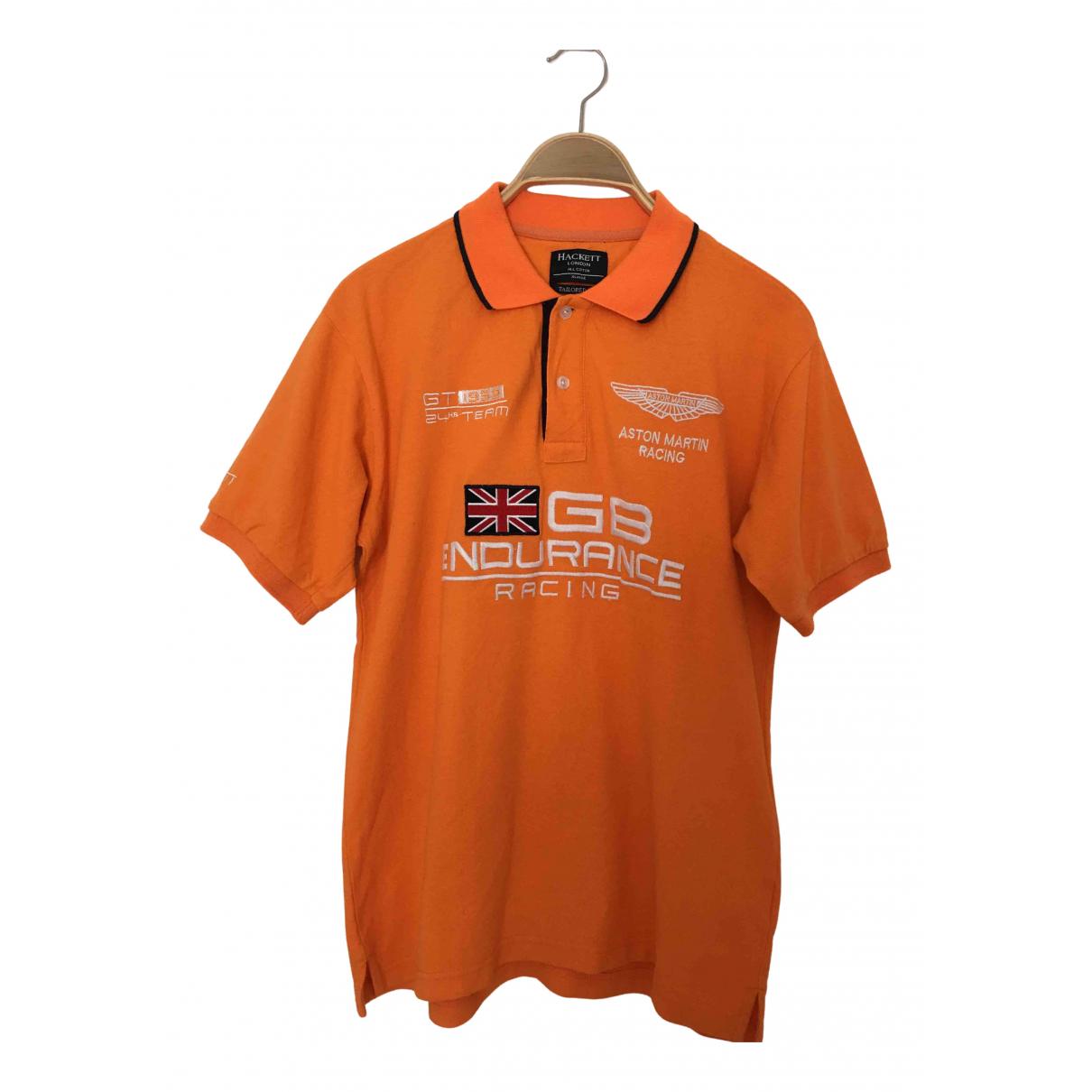 Hackett London N Orange Cotton Polo shirts for Men XL International