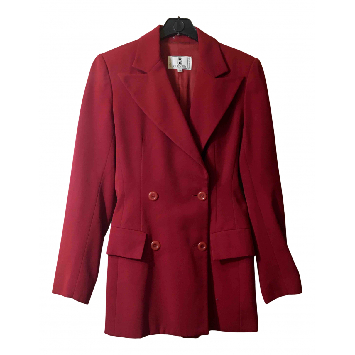 Valentino Garavani N Burgundy Wool jacket for Women 38 FR
