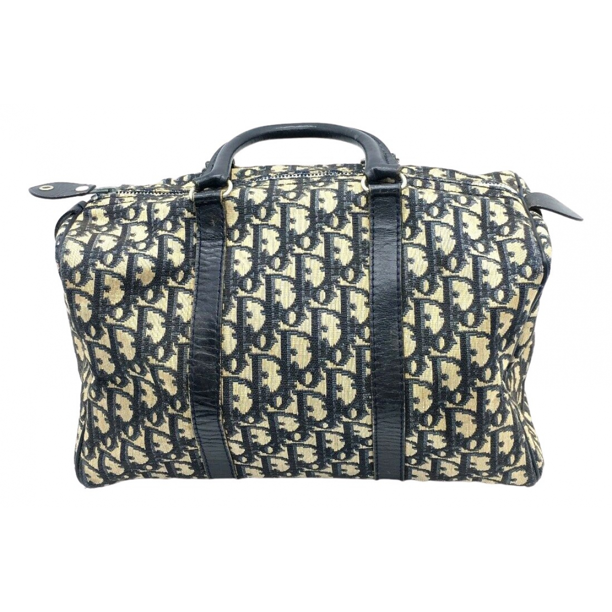 Dior Bowling Navy Cloth handbag for Women N