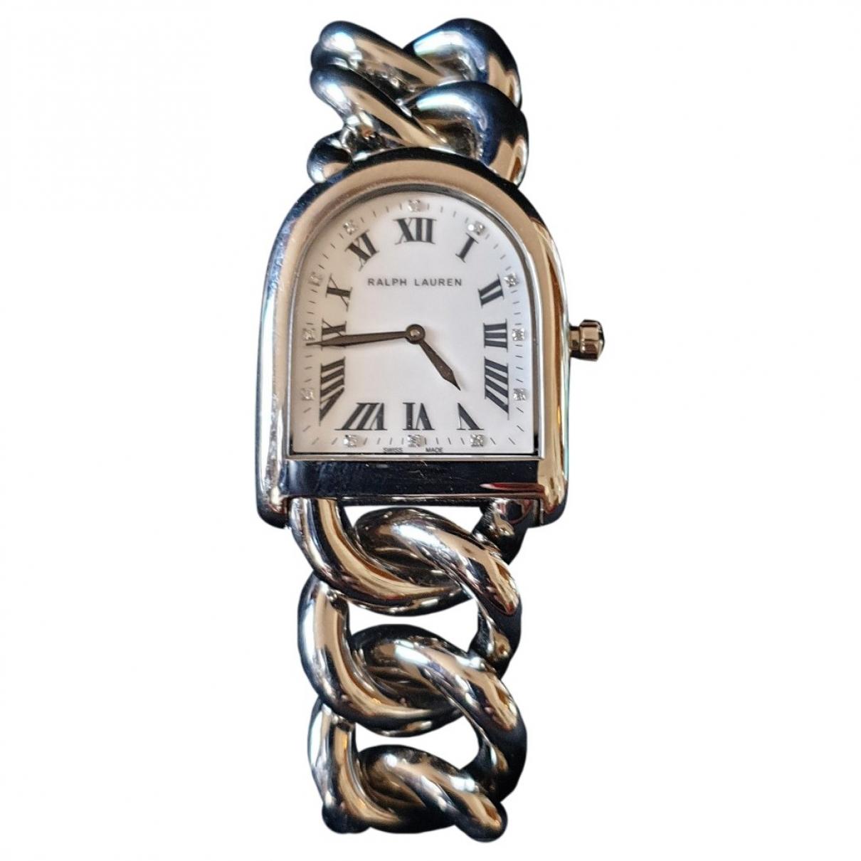 Ralph Lauren \N Uhr in  Silber Stahl