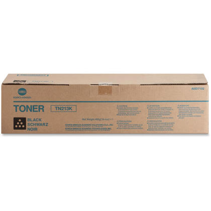 Konica Minolta TN213K A0D7132 Original Black Toner Cartridge