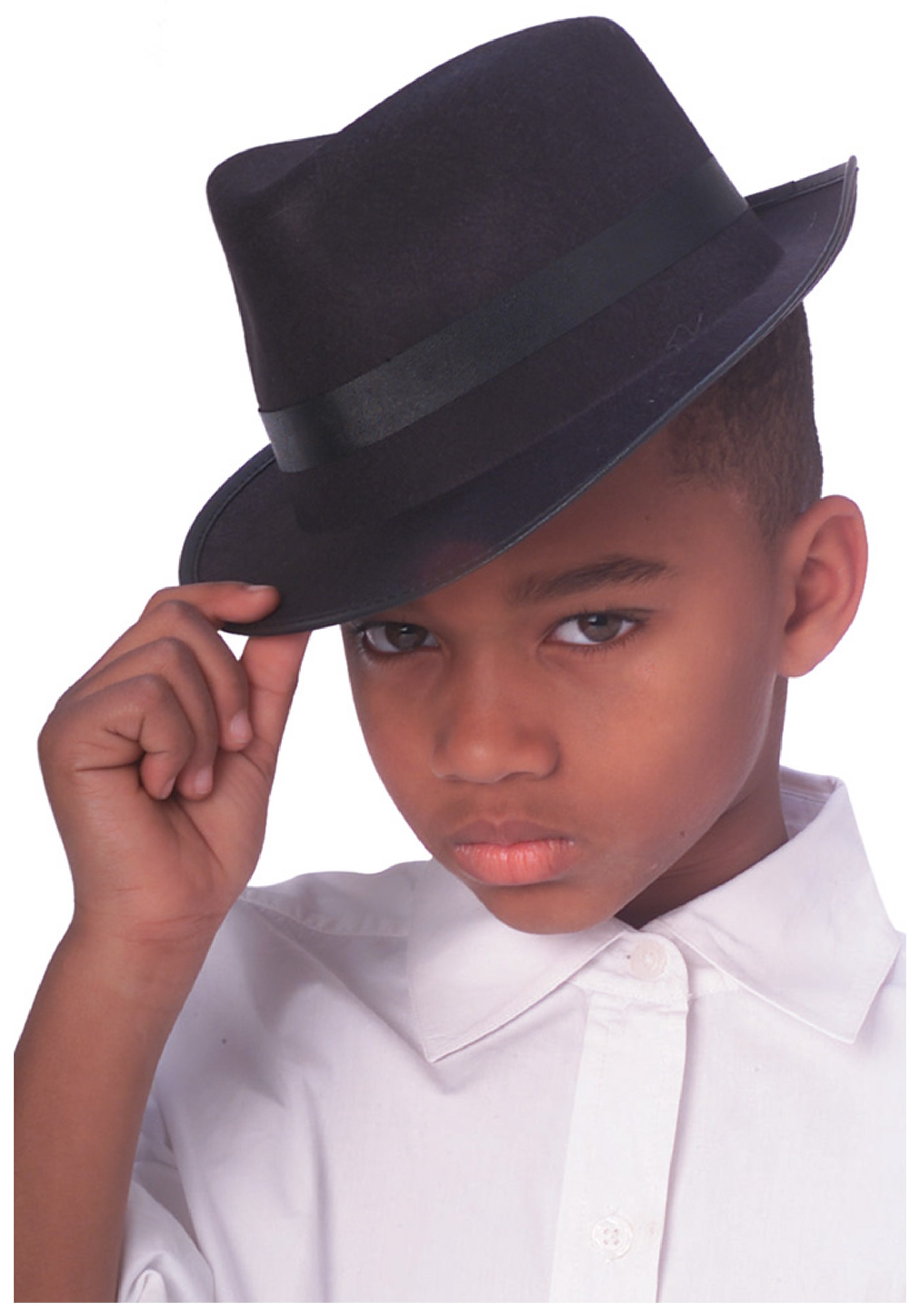 Kid's Gangster Fedora Hat Costume