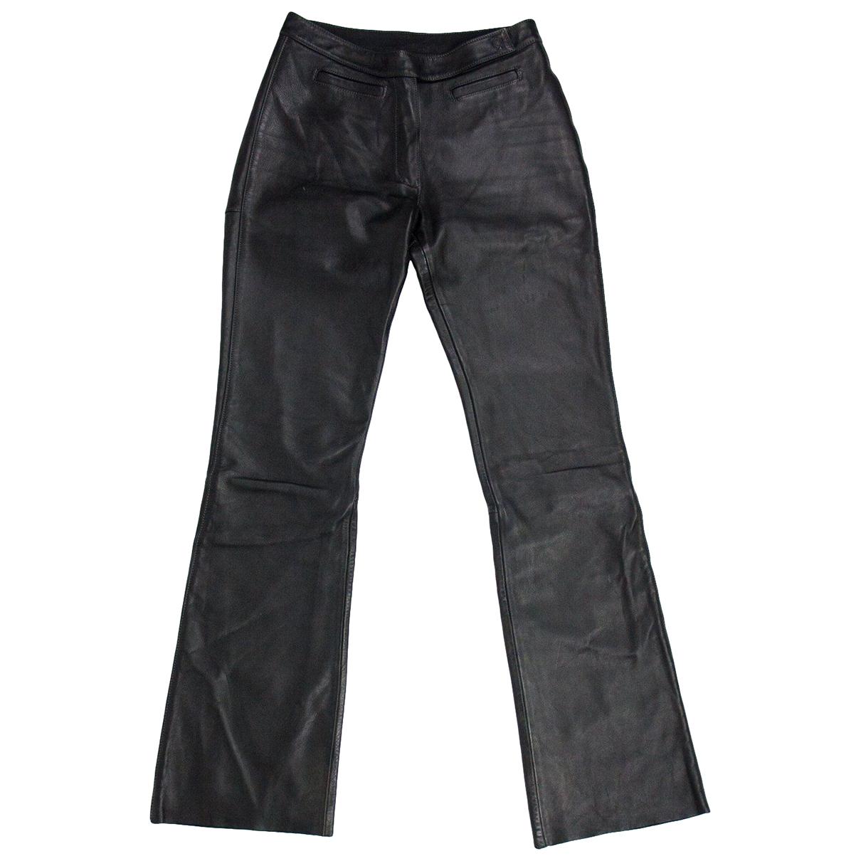 Hein Gericke - Pantalon   pour femme en cuir - noir