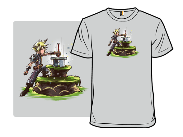 The Buster Sword In The Stone T Shirt