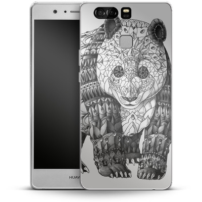 Huawei P9 Silikon Handyhuelle - Panda von BIOWORKZ