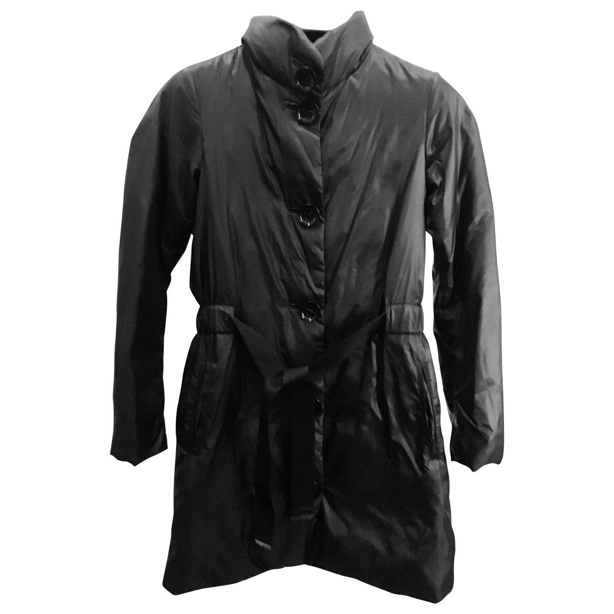 Emporio Armani \N Black coat for Women 38 IT