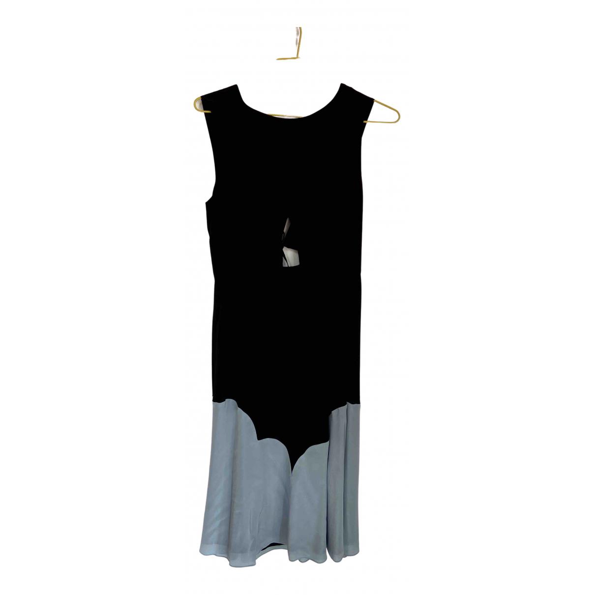 See By Chloé N Black Silk dress for Women 36 FR