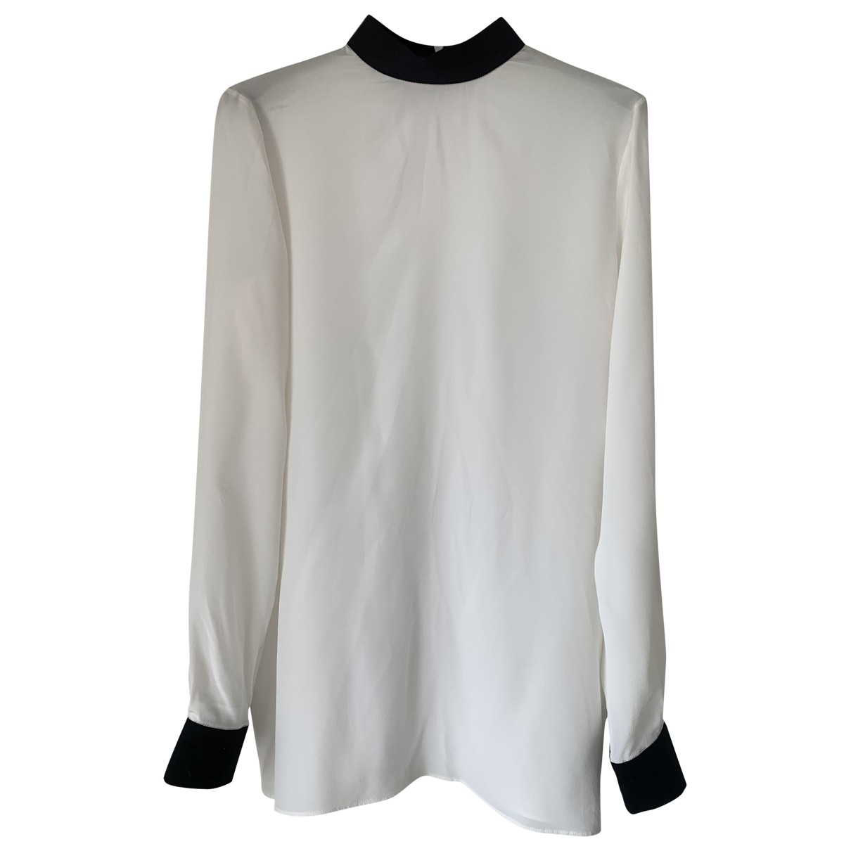Givenchy \N Top in  Weiss Seide