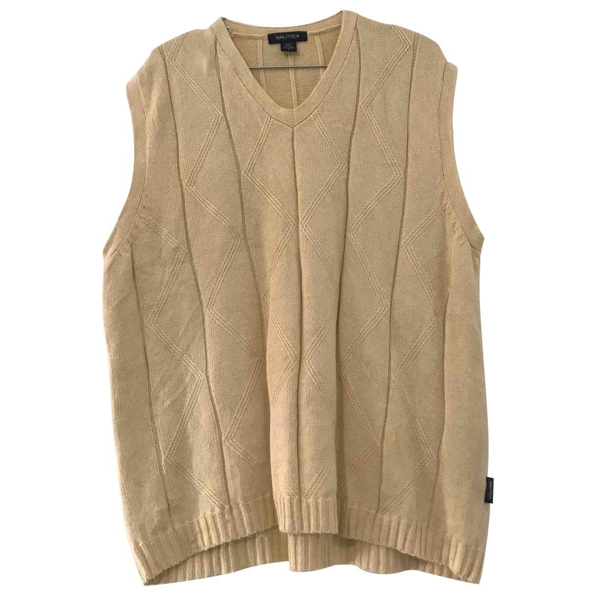 Non Signe / Unsigned \N Pullover.Westen.Sweatshirts  in  Beige Leinen
