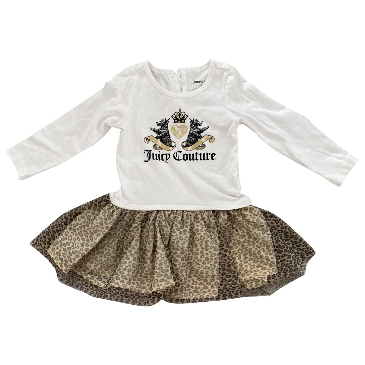 Juicy Couture - Robe    pour enfant en coton - elasthane - multicolore