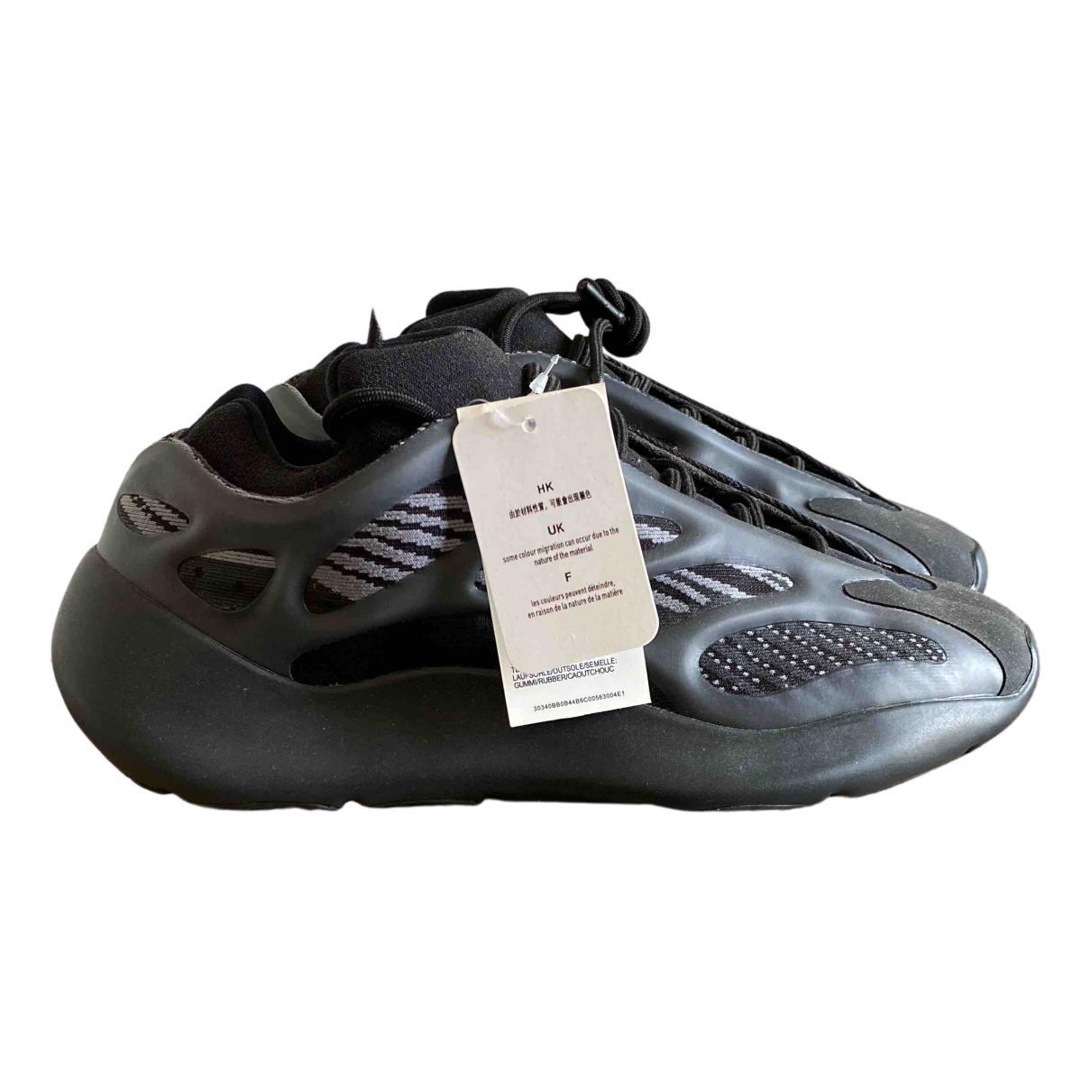 Yeezy X Adidas - Baskets Boost 700 V3 pour homme en caoutchouc - noir
