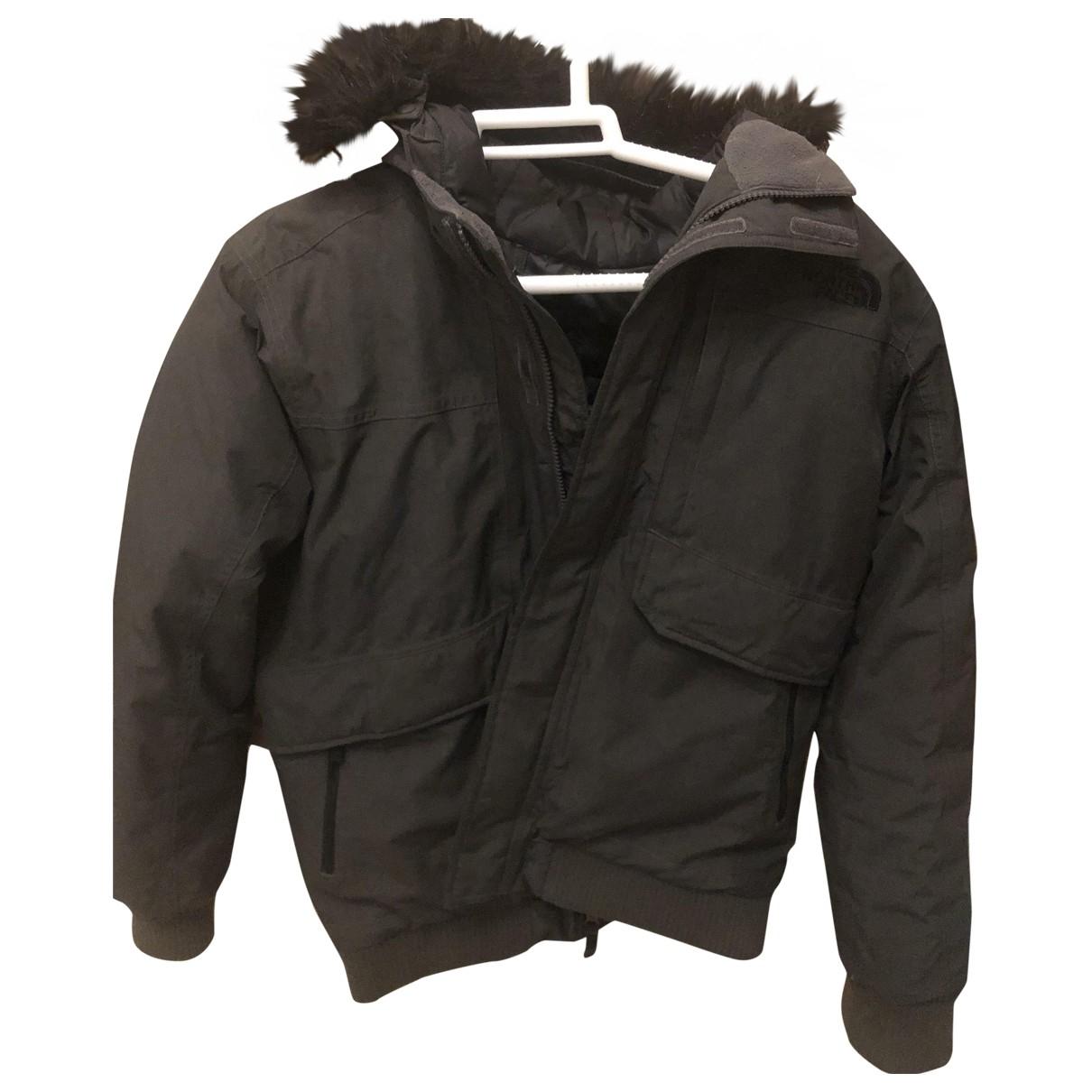 The North Face - Manteau   pour homme en coton - gris