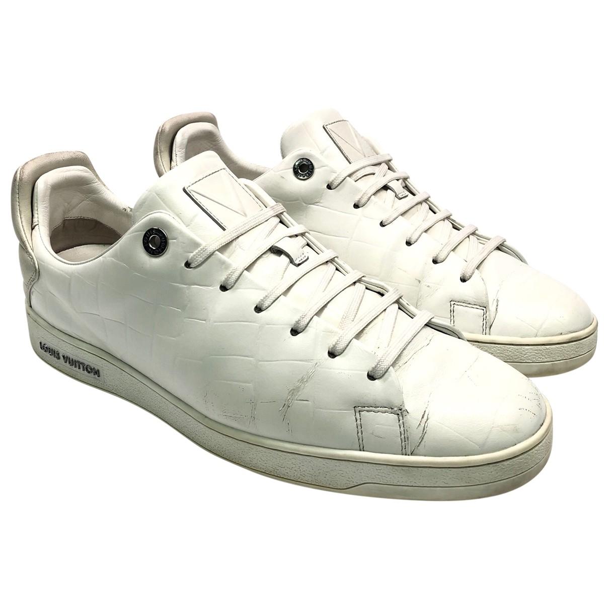 Louis Vuitton \N Sneakers in  Weiss Leder