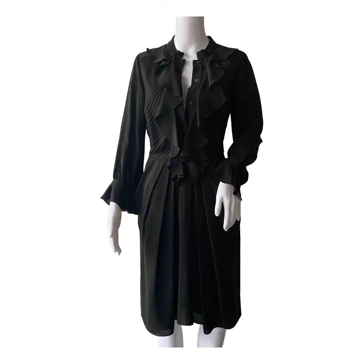 Celine - Robe   pour femme en soie - noir