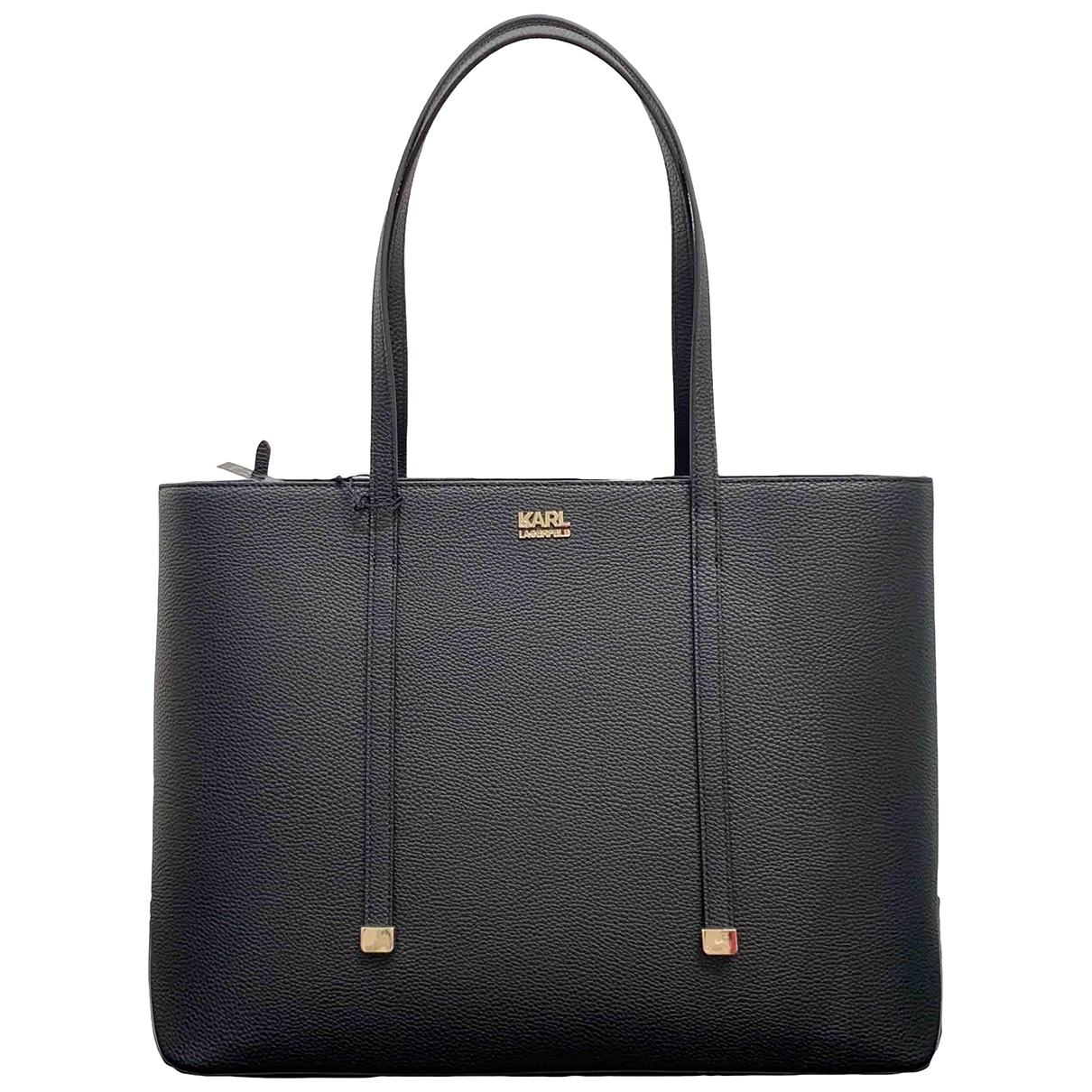 Karl Lagerfeld \N Black handbag for Women \N