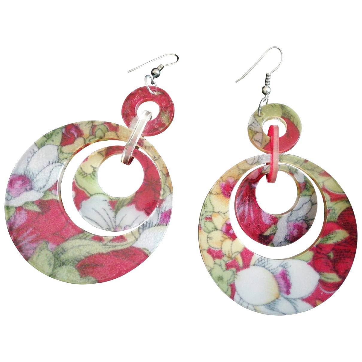 Non Signé / Unsigned \N Multicolour Earrings for Women \N