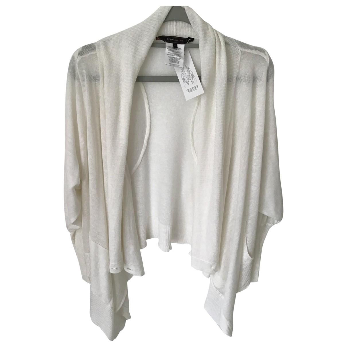 Bcbg Max Azria - Pull   pour femme en lin - blanc