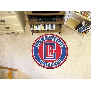 NBA - Los Angeles Clippers Roundel Mat 27