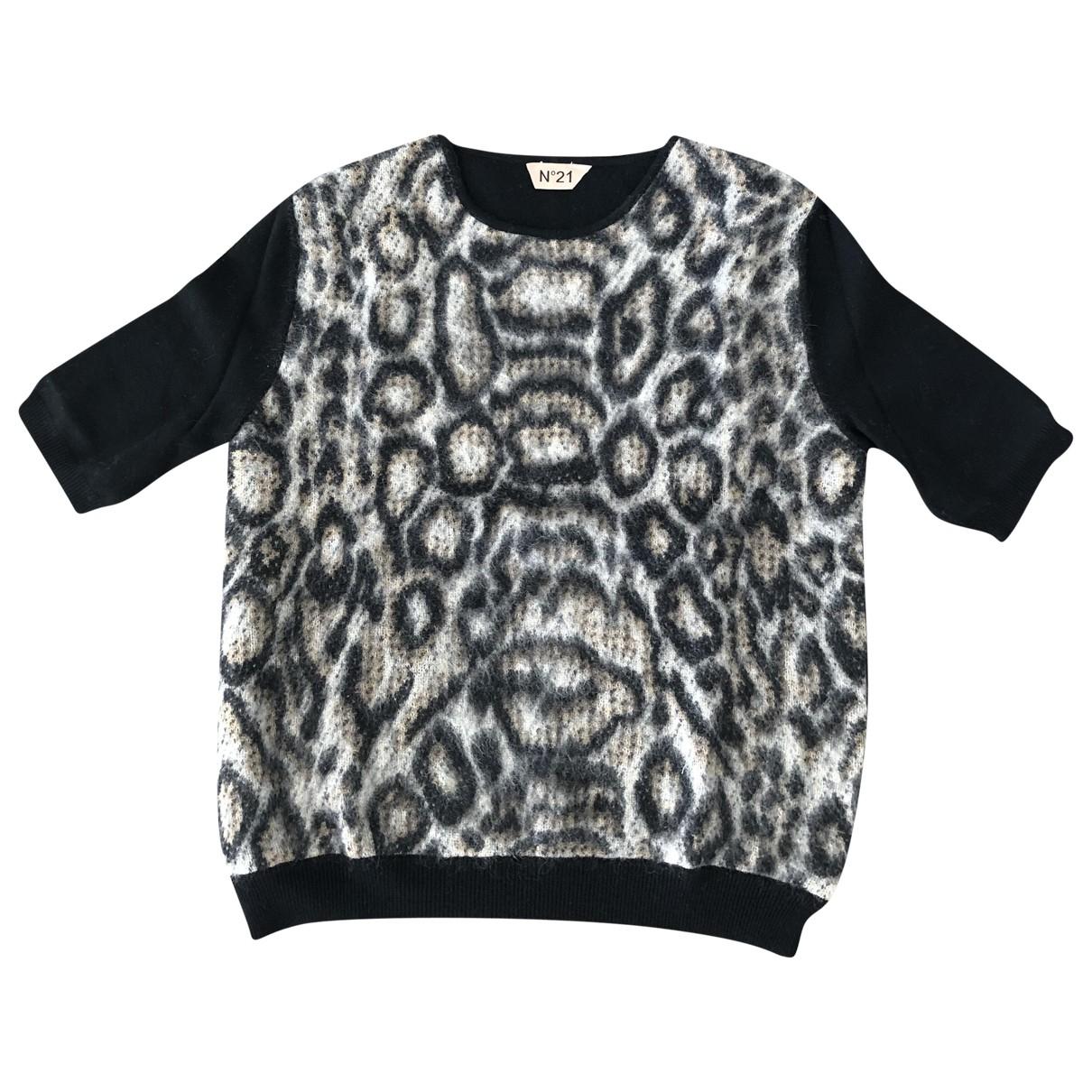 N°21 N Black Wool Knitwear for Women 40 IT
