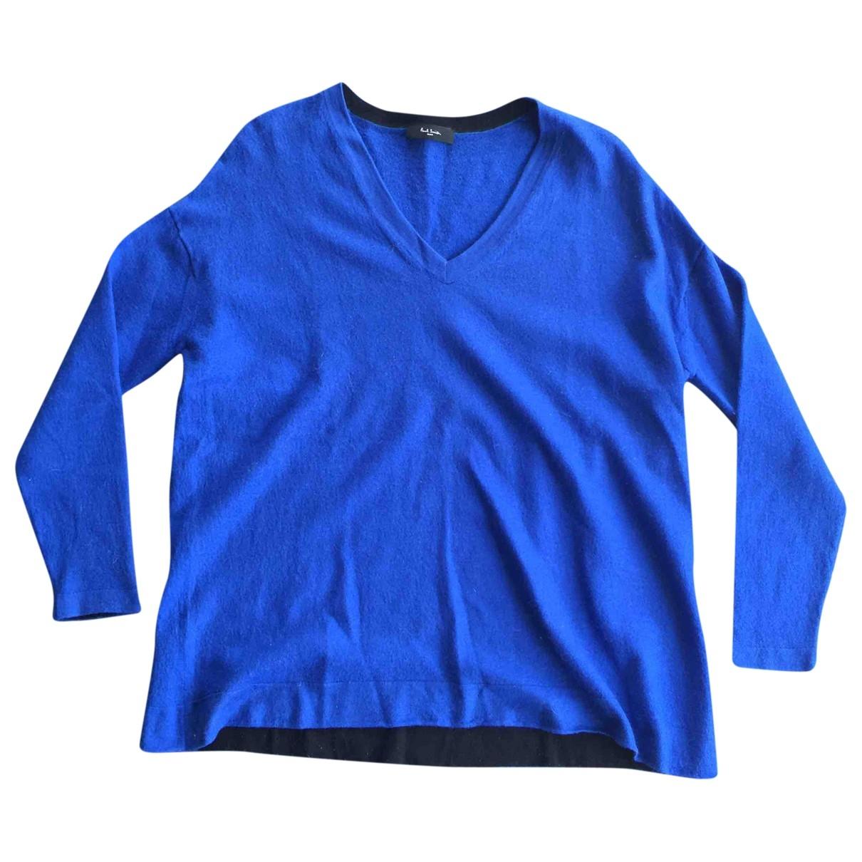 Paul Smith - Pull   pour femme en laine - bleu