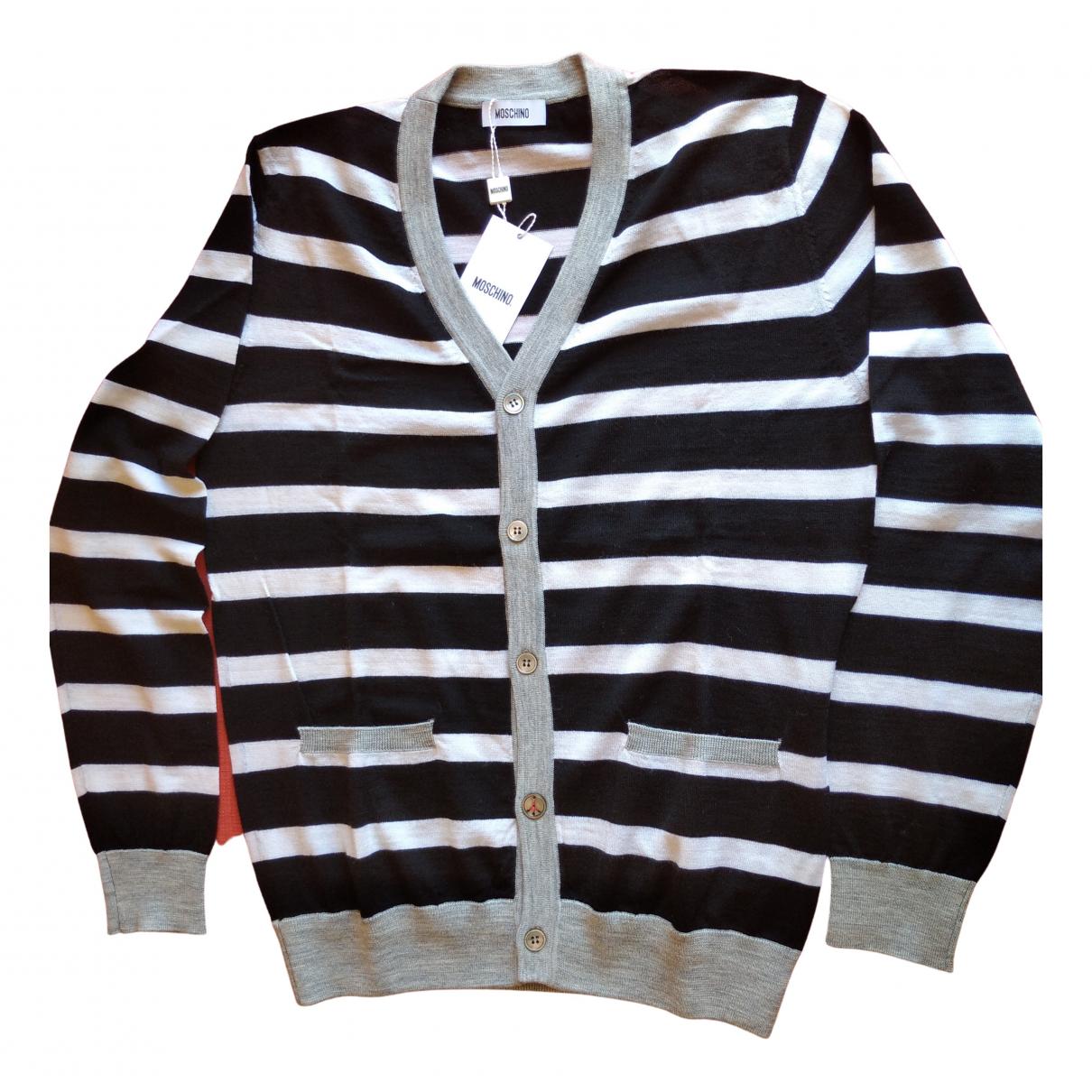 Moschino \N Pullover.Westen.Sweatshirts  in  Bunt Wolle