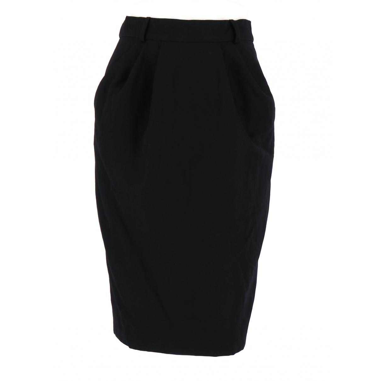 Marella - Jupe   pour femme en laine - noir