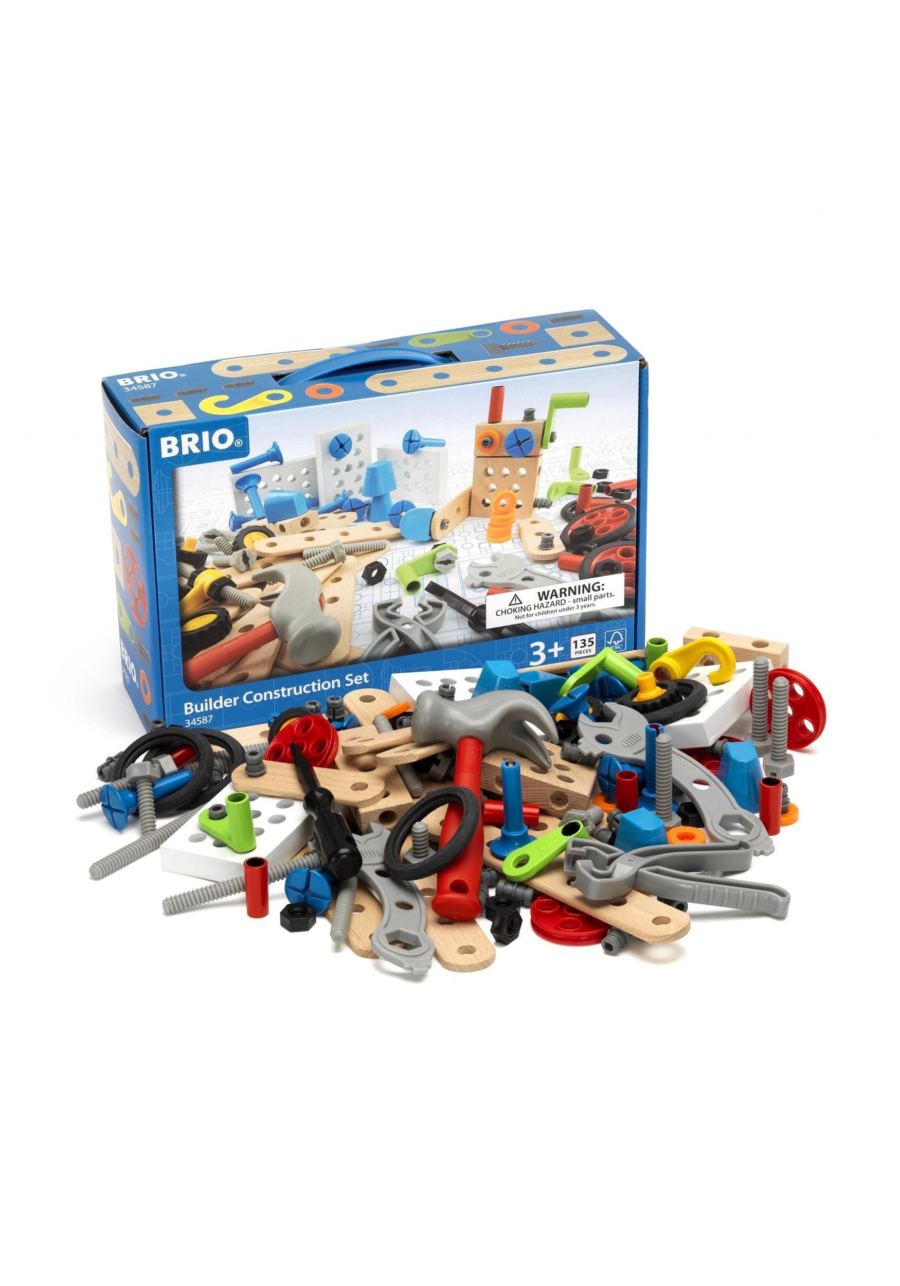 BRIO Builder 135 Piece Construction Toys Set