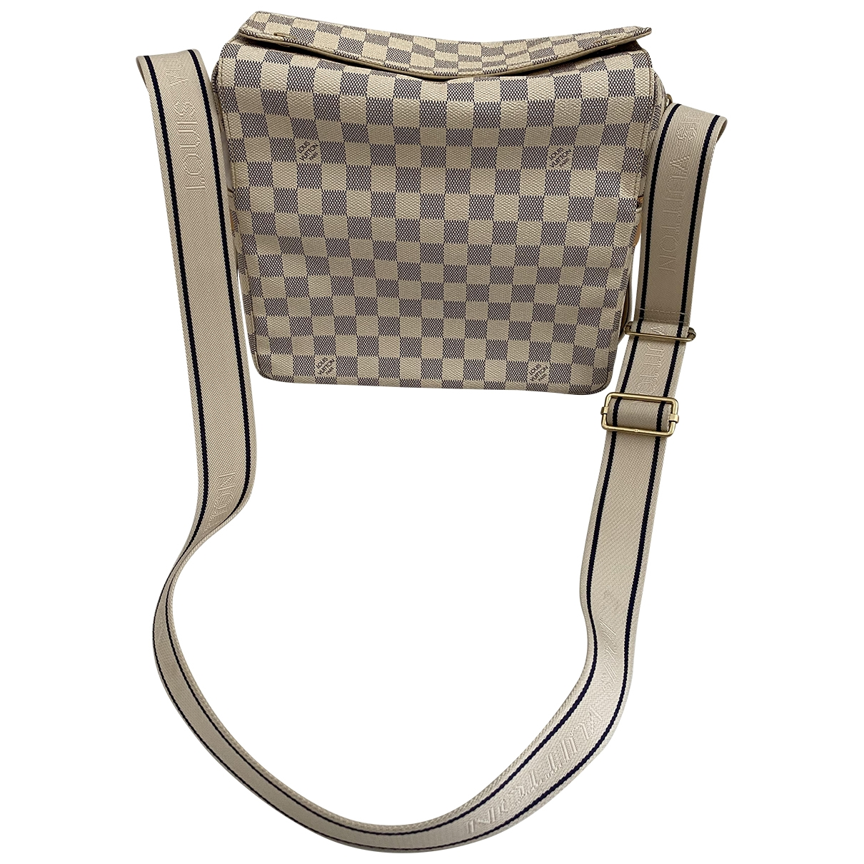 Louis Vuitton \N Ecru Cloth handbag for Women \N
