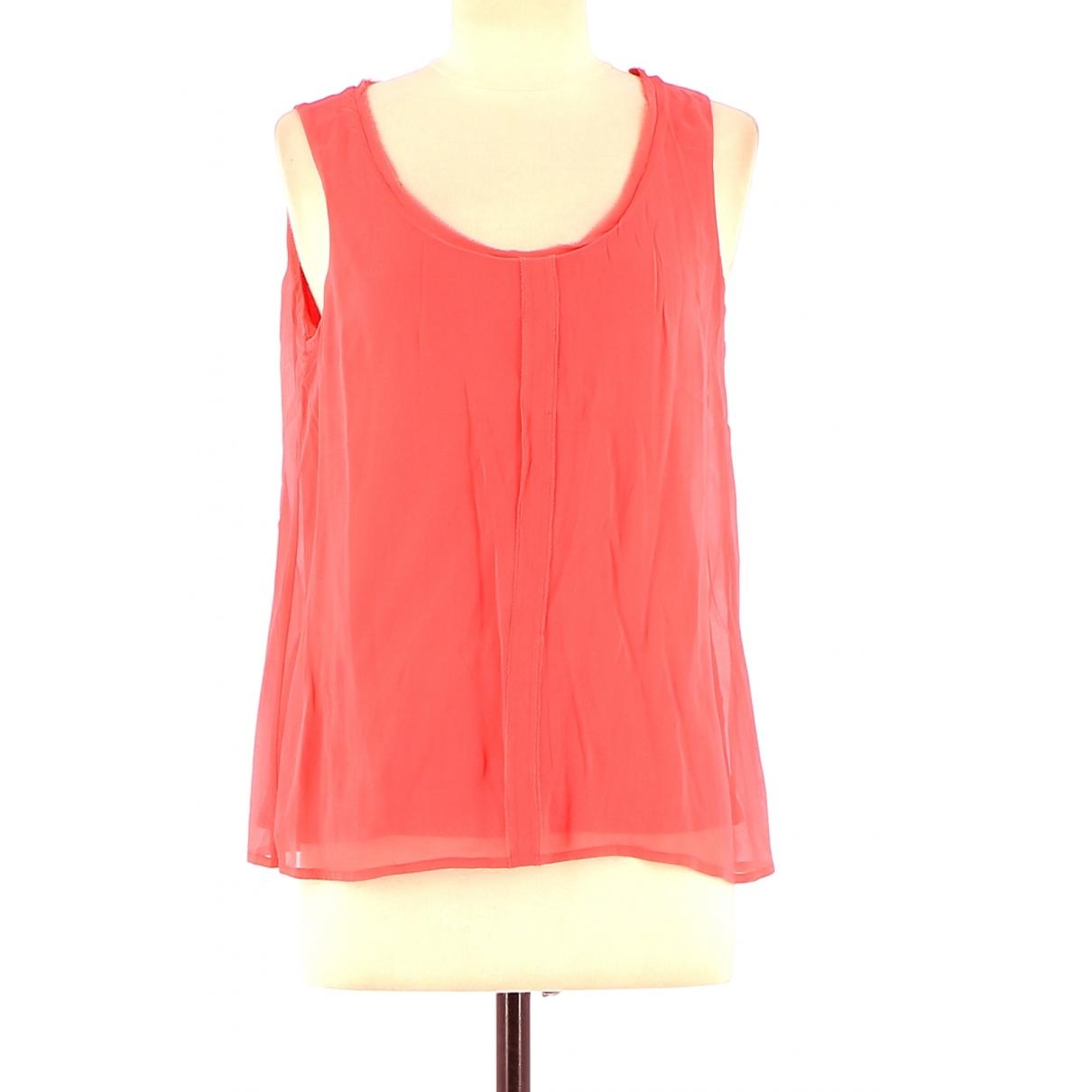 Comptoir Des Cotonniers - Top   pour femme en coton - rouge