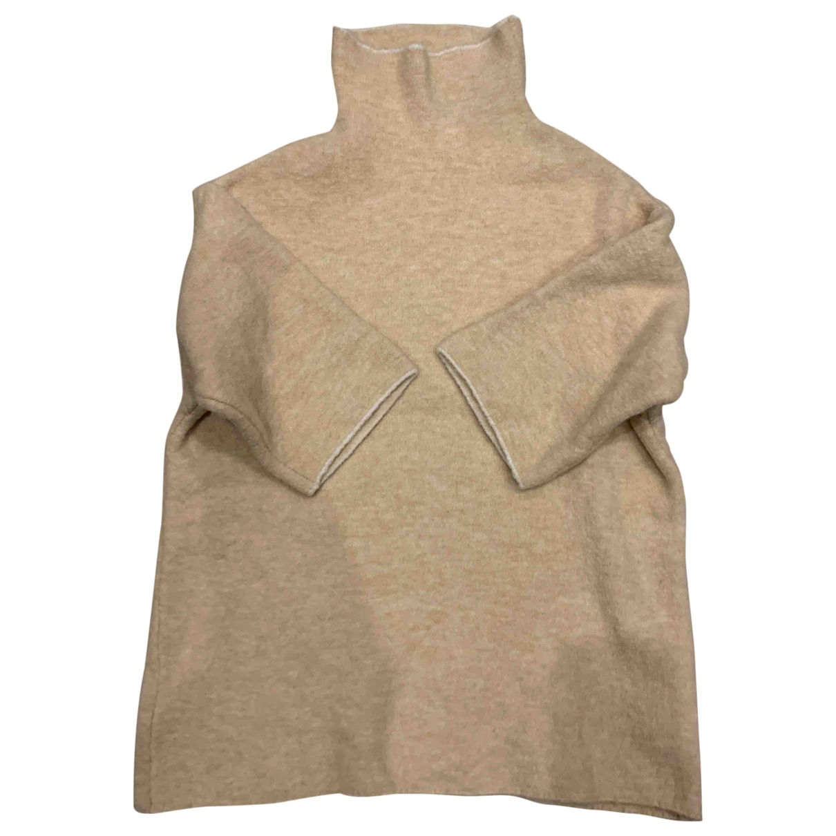 Zara \N Pullover in  Rosa Synthetik